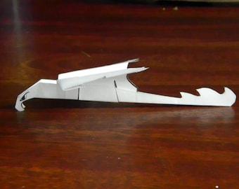 How to make Flying Paper Dragons - Hookbeaks