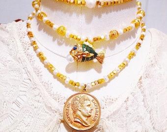 Lost Treasure Necklace Trio