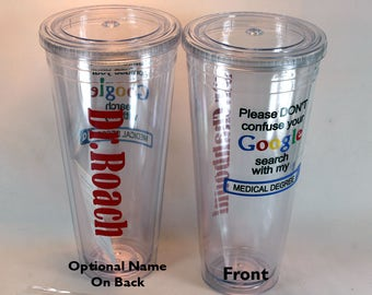 Medical Degree Google Search - Doctor Tumbler -  Doctor's Cup - Medical School Gift - Doctor Gift - Medical School Graduate - Doctor Day