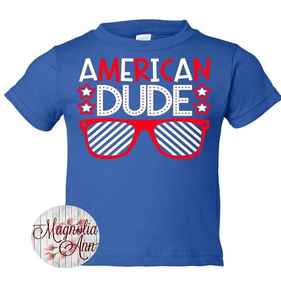American Dude,Baby Boys Shirt, Toddler Boy Shirt, Infant Boys Shirt, Kids Patriotic Shirt, 4th of July Shirt, Trendy Boys Shirt, 4th of July
