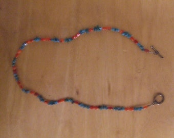 Coral/ Turquoise Necklace