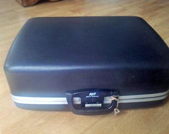 Typewriter Case with Key Smith Corona typewriter storage case