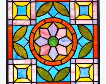 Dutch Quilt Pattern - Stained Glass