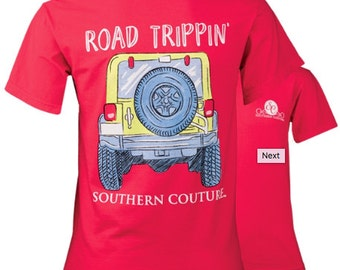 Southern Couture Road Trippin- Jeep