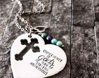 Religious Jewelry / Confirmation Gift / Religious Necklace / Graduation Gift / Gifts for Her