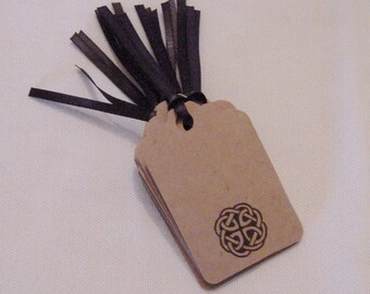 Celtic Knot Gift Tags, Celtic Knot Tags, Handmade Gift Tags