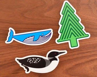 Wilderness Stickers