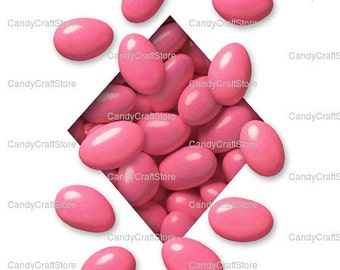 2.5 lbs Pastel Pink Jordan Almonds Baby Shower Baptism Communion Confirmation Wedding Quince Shower Candy Bar Favors Pink Candies