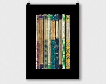Cocteau Twins 'Victorialand' Album As Penguin Books Poster Print Literary Print