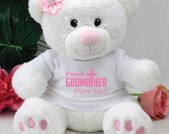 Proud Godmother Pink Bear