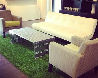 5' x 7' Synthetic Grass Rug