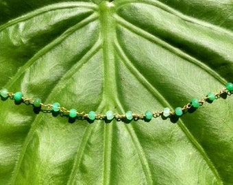 Happy, Healing Chrysoprase Necklace