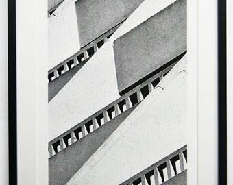 """Fine Art Print """"Fassade #2"""" on Hahnemühle Baryta"""