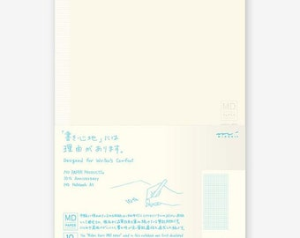 Midori MD Notebook - 10th Anniversary Edition - A5 - Grid with Margin