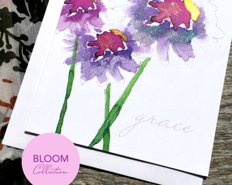Grace Art Card - Bloom Collection (Greeting Card)