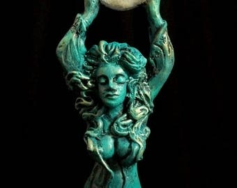 Original Statue Moon Goddess -Aradia Queen Of The Witches