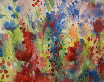 In Bloom - Original Watercolor