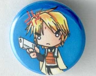 Saiyuki - Sanzo Button