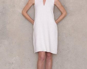 Shift dress pattern, linen dress pattern, PDF sewing patterns for women, tunic dress pattern, sleeveless dress with pockets, DIY 90s dress