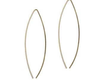 My, Large Wishbone Earrings