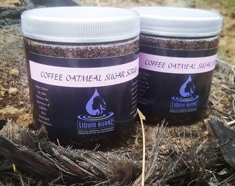 Coffee Oatmeal Sugar Scrub