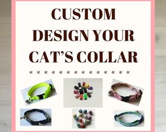 Custom Design Your Cat's Collar