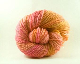 Granita, Hand painted Worsted Merino Yarn