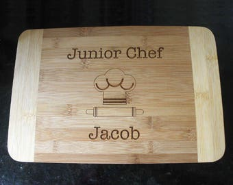 Kid's cutting board, personalized cutting board, engraved cutting board, kid baking gift, kid cooking gift, child baking gift, kid gift