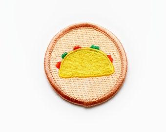Iron-on Taco Patch