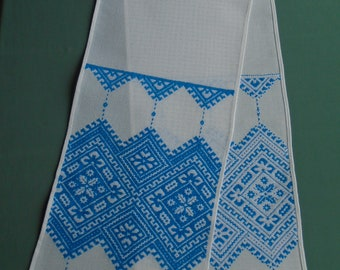 Ukrainian Hand Embroidered Wedding Towel, Rushnyk, Ukraine,