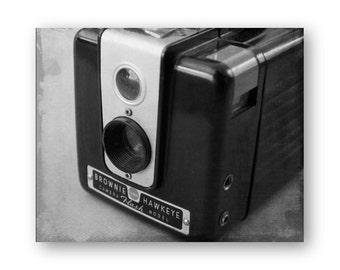 Photo impression Brownie Hawkeye appareil Photo d'Art, un appareil photo encore vie décor, appareil photo Collection Decor, Spartus caméra photo, impression de Brownie Hawkeye
