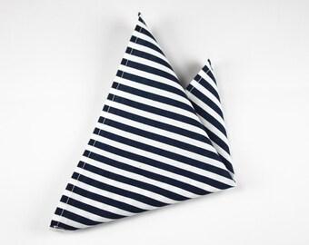 Pocket bag with BlueStripes fabric