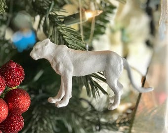 Jaguar Ornament, Christmas Ornaments, Home Decor, Holiday