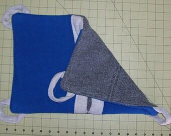 Ferret Pocket Hammock, Rat hammock, Small Animal Play Sack, Pocket Hammock, Play Sack, Sleeping Bag,