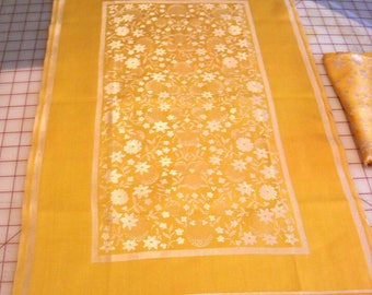 Gold Towels Two  7.5 x 31.5 Golden Anniversary or Other Occasion Vintage 1941
