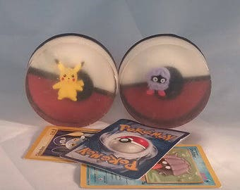 Pokemon Soap, Natural Goat Milk, Toy Soap, Children's Soap Collectible