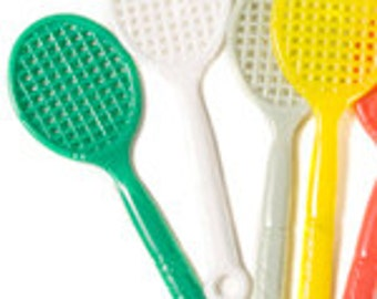 Charms - Plastic Tennis Racquet Charms - Pack of 100