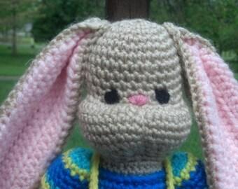 Amigurumi Rabbit Crochet Toy