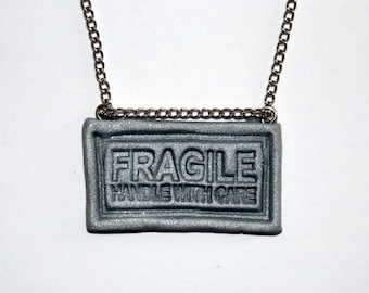 Fragile Necklace or Bracelet