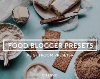 FOOD BLOGGER Lightroom PRESETS Filters set