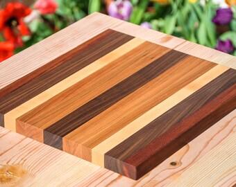 Cutting Board - Mahogany, Walnut, Maple, Cherry