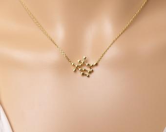 High quality Zodiac Gemini Constellation Necklace,Gemini Necklace,Zodiac necklace,Gift idea,zodiac jewelry,celestial jewelry