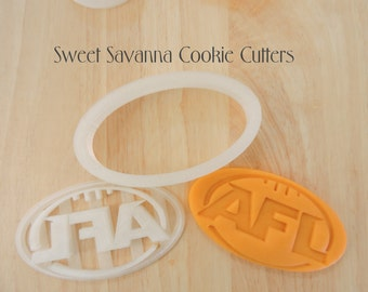 Football Cookie Cutter-