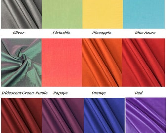 Silk Color Chart