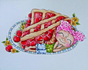 INSTANT DOWNLOAD Digital Digi Stamps Big Eye Big Head Dolls NEW Bestie Img675 My Besties By Sherri Baldy