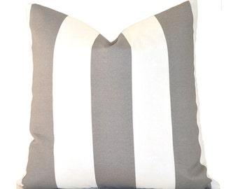 Outdoor Pillows Decorative Pillows Outdoor Pillow Covers ANY SIZE Pillow Cover Grey Pillow Premier Prints Outdoor Vertical Grey