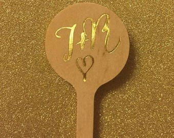 Custom FOIL drink stirrers