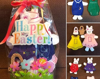 Easter Bunny Family Play Set