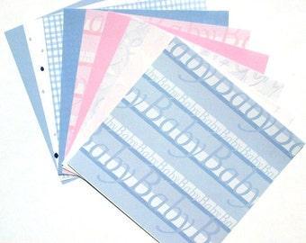 Nursery - 6x6 Memory Block Paper Pack