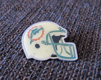 Vintage Miami Dolphins Helmet Pin Starline Free Shipping